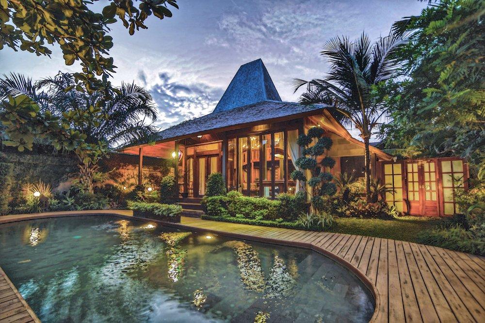 Villa Sake japanese style villa Seminyak Bali