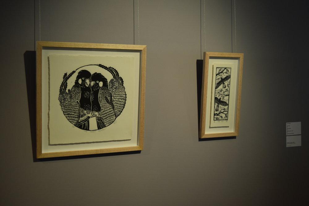 Lino prints by Amy Daeche