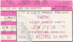 Faith 1993
