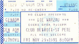 Die Warzau 1991