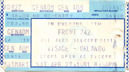 Front 242 1991