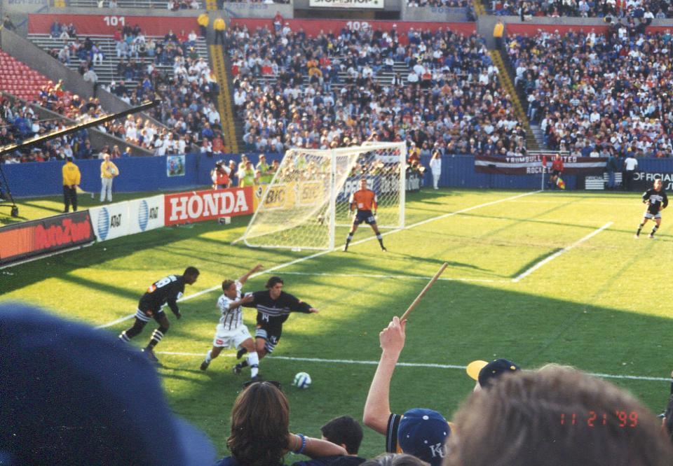 MLS CUP '99, Foxboro Stadium
