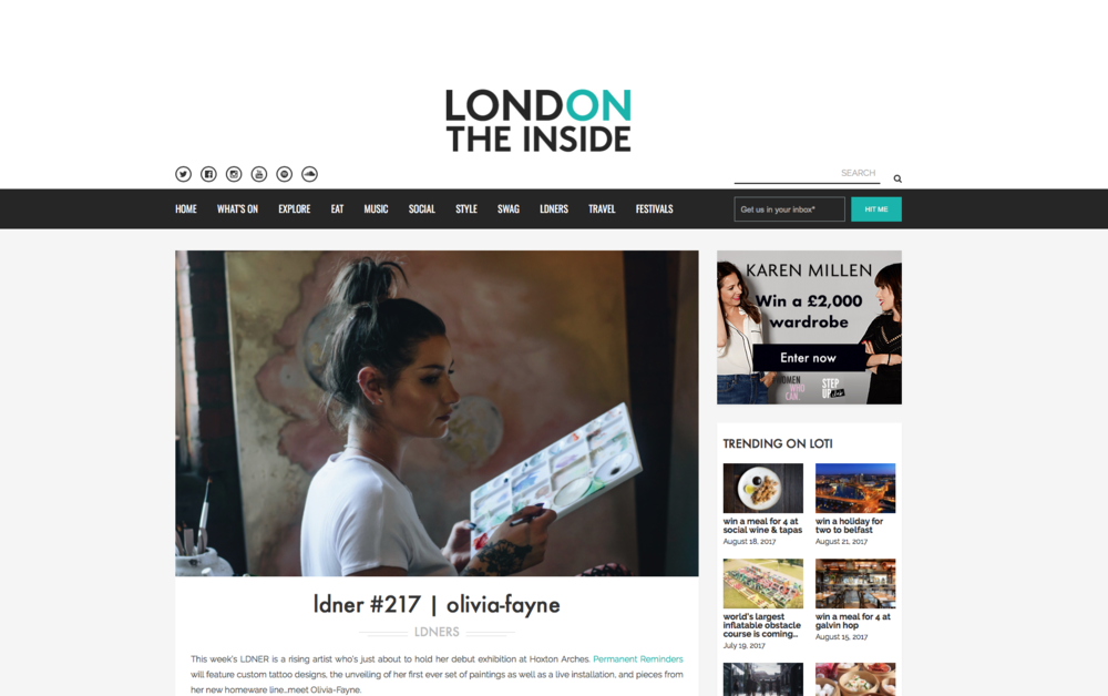 interview with london on the inside click to read full interview