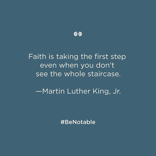 Whether it's your #firstdayofschool 📚 or the first day back at work 💻 after the #laborday holiday, take steps to make it a fantastic start to September. #keepitup #BeNotable #mondaymotivation #MLK