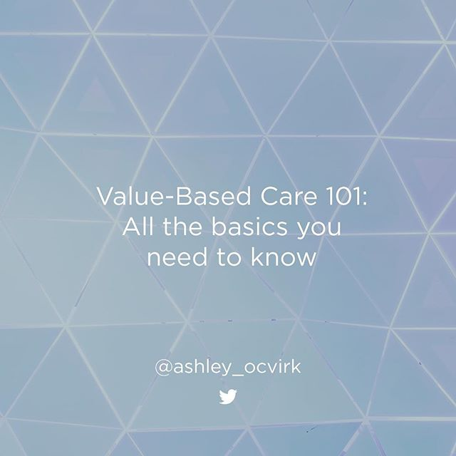 Is #quality the new #quantity? 💡 What #ValueBasedCare #challenges do #healthcare organizations face? 🏥@aocvirk dives into the #VBC basics on the #Noted blog. Link in bio. #healthcarereform #reform #payment #patientsfirst #MACRA #policy