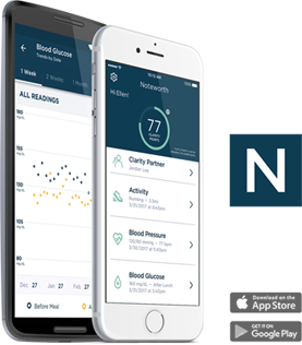 Noteworth App home screen
