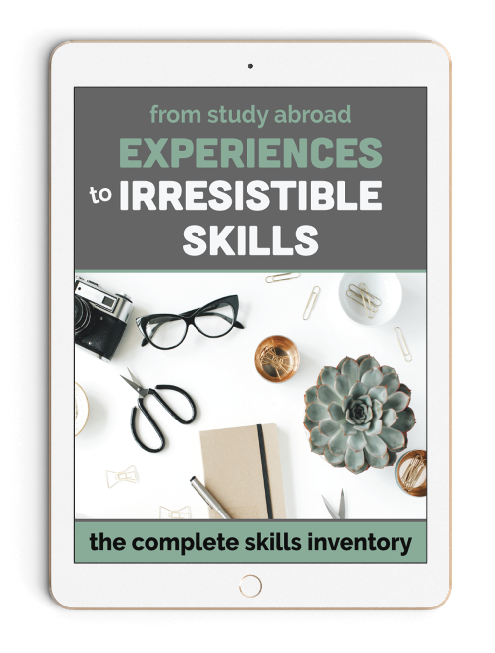 From Study Abroad Experiences to Irresistible Skills is a step-by-step skills inventory for anyone who's ever studied, worked, lived, interned, or volunteered abroad. We've got unique exercises to walk you through exactly what you learned and help you translate your experience into concrete skills. Grab the workbook today.