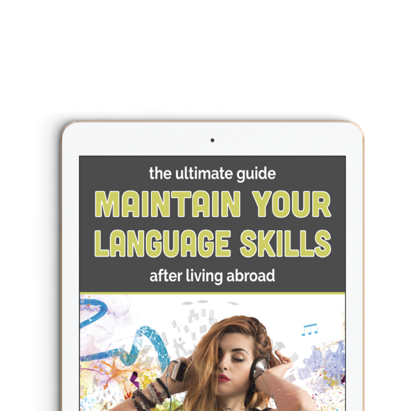 Maintain Your Language Skills workbook