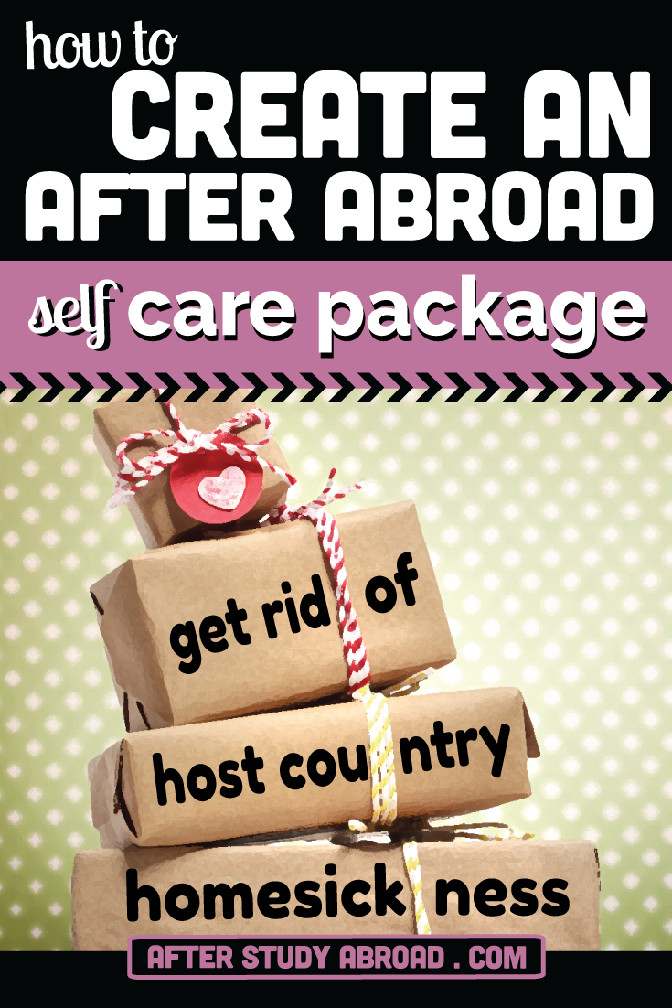 Are you stuggling with homesickness after study abroad? You should make a care package to remind yourself of all of the wonderful memories from abroad. Plus, we've got a free packing list download to help you figure out want to add to your special package.