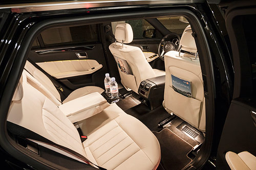 The legendary E class is the perfect standard car for transfers for 2-4 passengers with a solid amount of luggage.