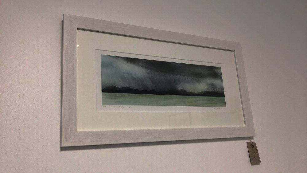 Cath Waters - We stock a selection of work from Cath Waters, a contemporary Scottish landscape artist creating atmospheric digital collages inspired by the beauty of the Scottish land and sea, especially the Scottish West Coast and the Isle of Skye.