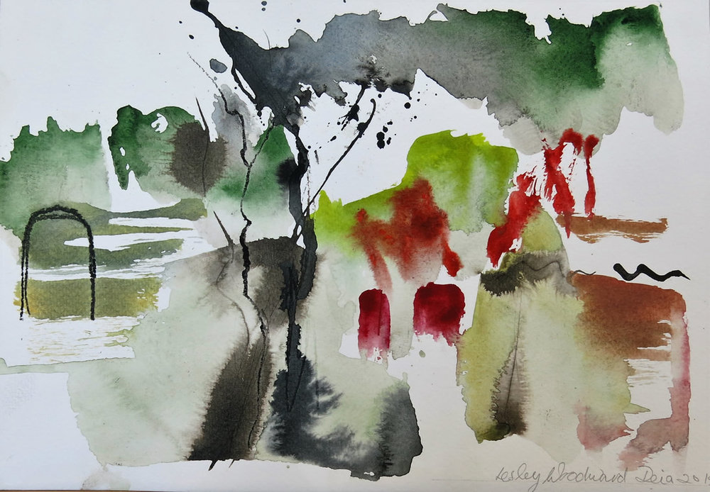 Lesley Woodward Watercolour