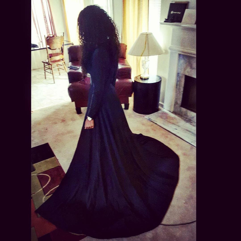 black maxi dress with split and long sleeves.jpg