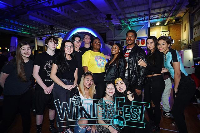 It's all about UNITY! 💙 WinterFest is a place where you and ALL of YOUR friends can come together and PARTY as one! 🥶🎉 TAG YOUR SQUAD IN THE COMMENTS!!! 💥🔥💥 #WinterFest19 #UMPL #myBOOMtour #HighSchool #MusicFestival #ChangingHighSchoolDancesForever
