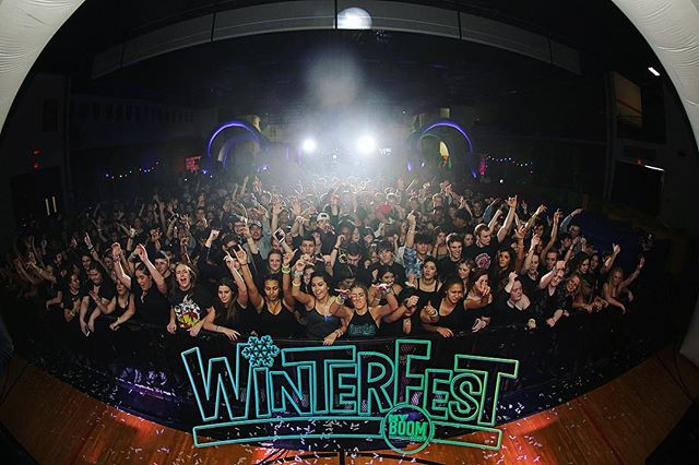 #TBT to WinterFest 2018 at Shepard because we are BACK Saturday! 🥶💥🥶 Drop a 🔥🔥🔥 in the comments if you are READY to TURN UP this weekend! 😝 #WinterFest19 #UMPL #myBOOMtour #HighSchool #MusicFestival #ChangingHighSchoolDancesForever