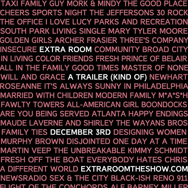 Ready for the #ExtraRoom trailer?  We salute all of the queer and ally creatives before us that have helped pave the way for more inclusive storytelling. Catch the Teaser/Trailer coming out 12/3 - Extra Room The Show coming 2019  Stay tuned for updates at: http://ow.ly/9MDI50jQuSK