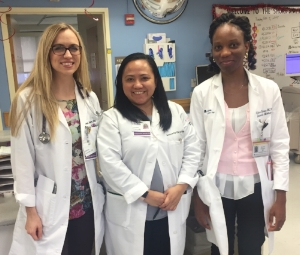 Team Infectious Disease this week (but missing one other lady from this picture.. girl power as always around here!)