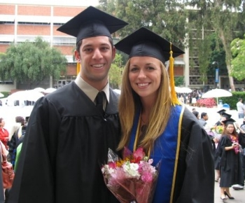 ^babies graduating from college! We were the same major, and met in class :-)