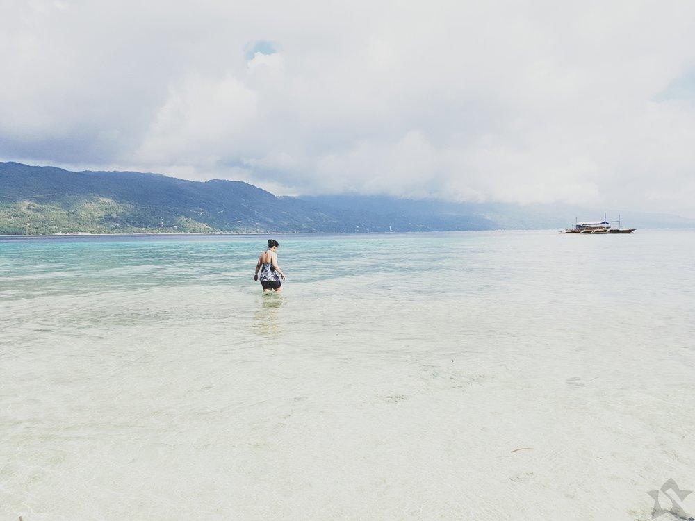 Sumilon Island Shore Cebu Philippines