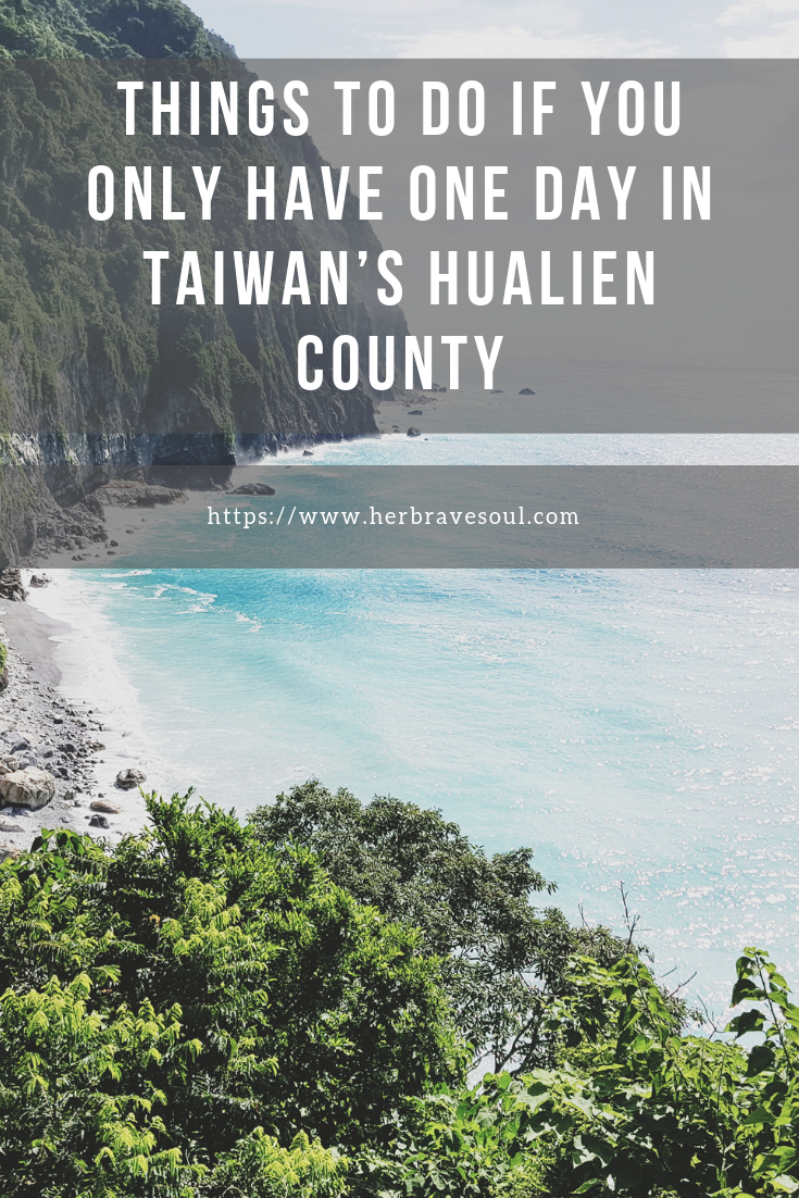 hualien county one day