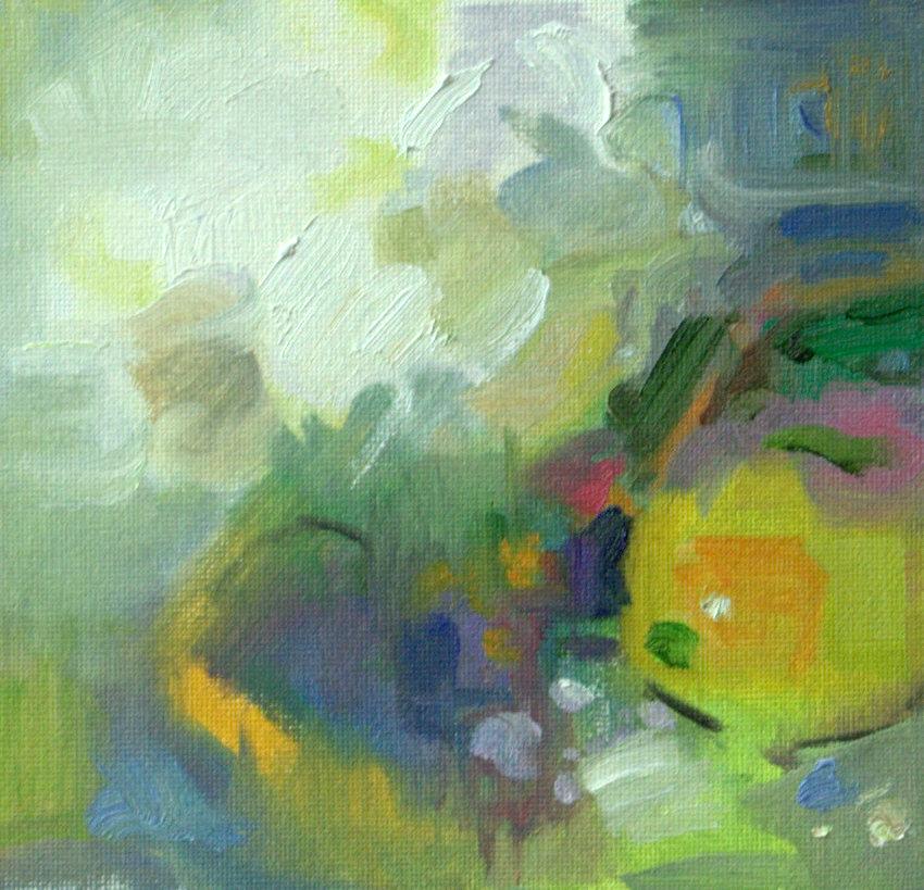 Hydrangea Abstraction