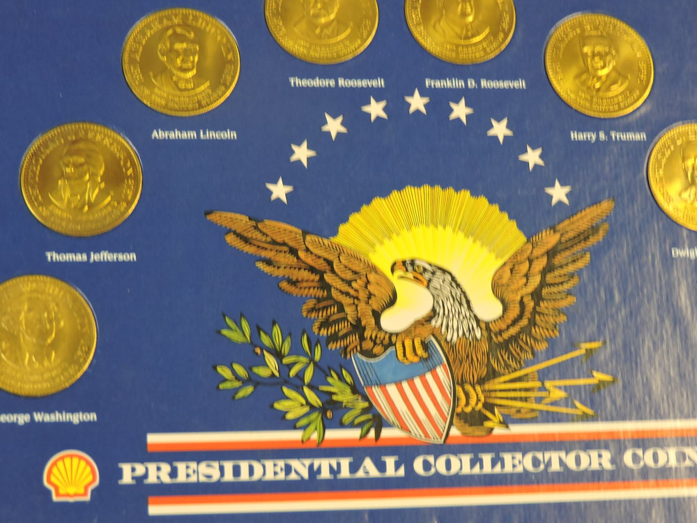 Presidential Collector coins, Spanish PIllar Dollars and others to be discussed...