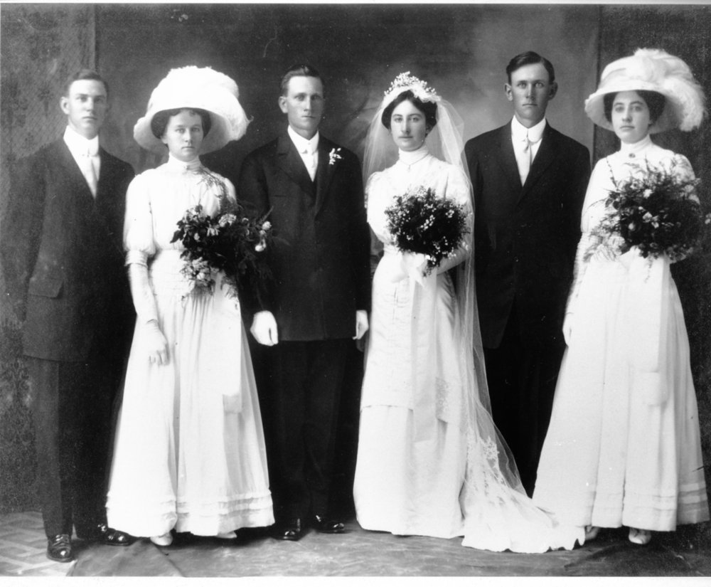 1910 Wedding of Caspar Borchard Jr. and Ida Ayala