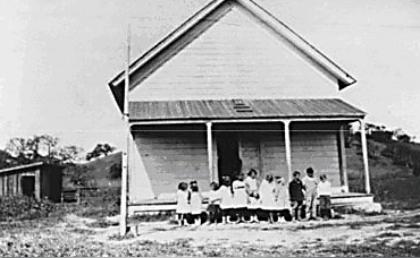 Conejo School in the cook shack