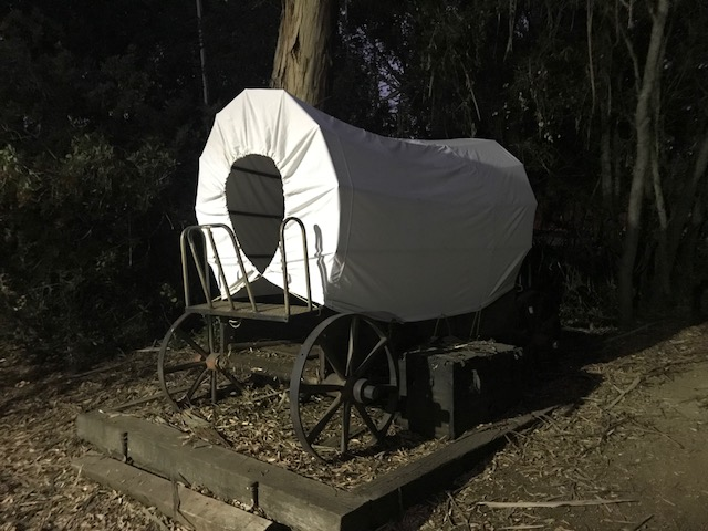 Covered wagon... -