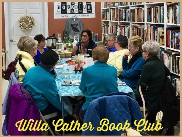 Chris discussing  My Antonia  at  Bookclub Bookstore & More  in South Windsor, CT.
