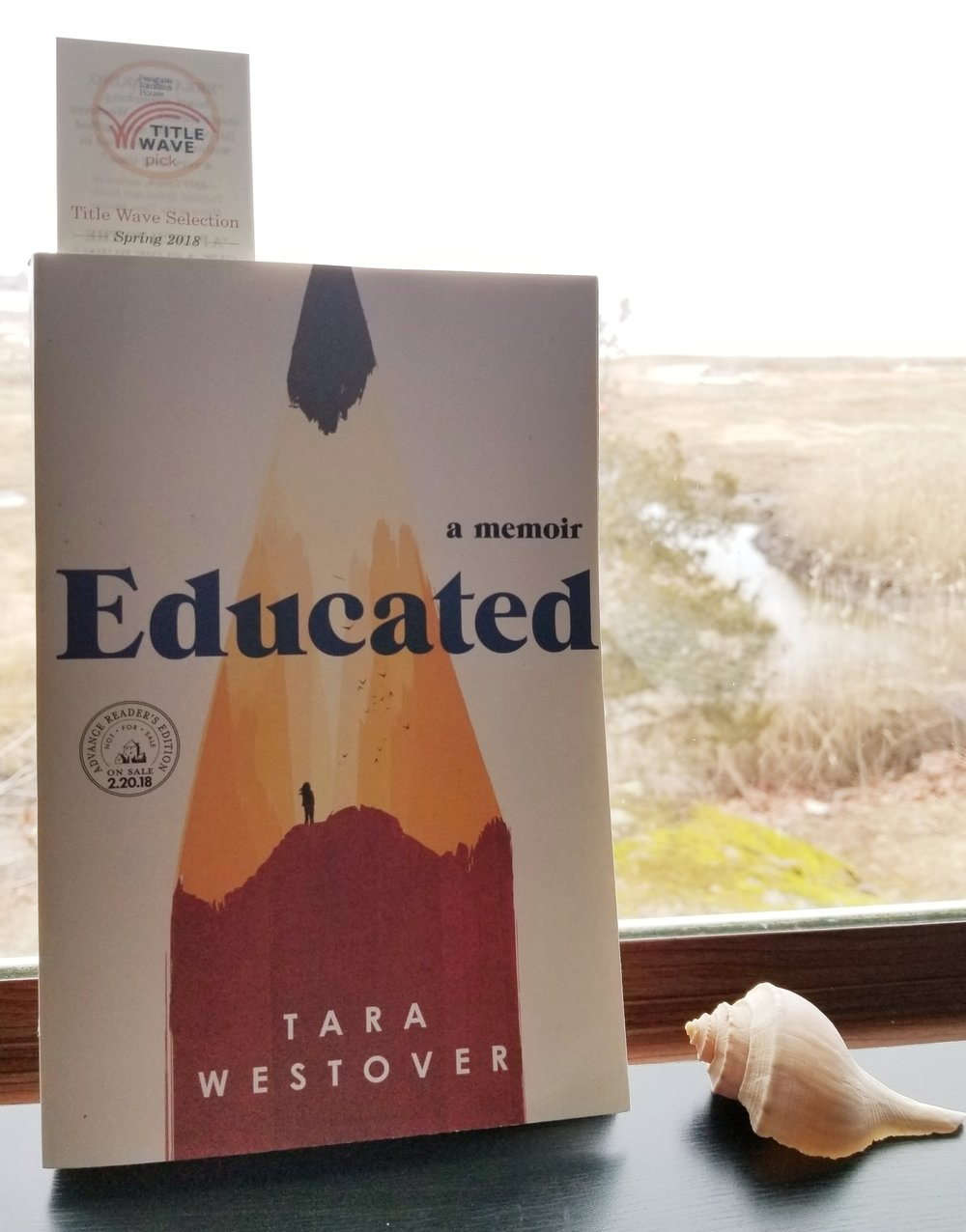 Check out this cool cover! Educated: A Memoir – Tara Westover (release date: February 20, 2018)