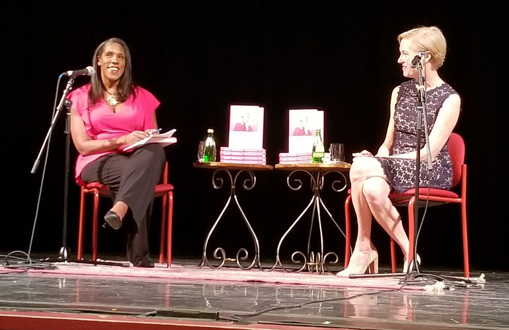Cecile Richards and Teresa C. Younger discussing Cecile's book  Make Trouble: Standing Up, Speaking Out, and Finding Courage to Lead .