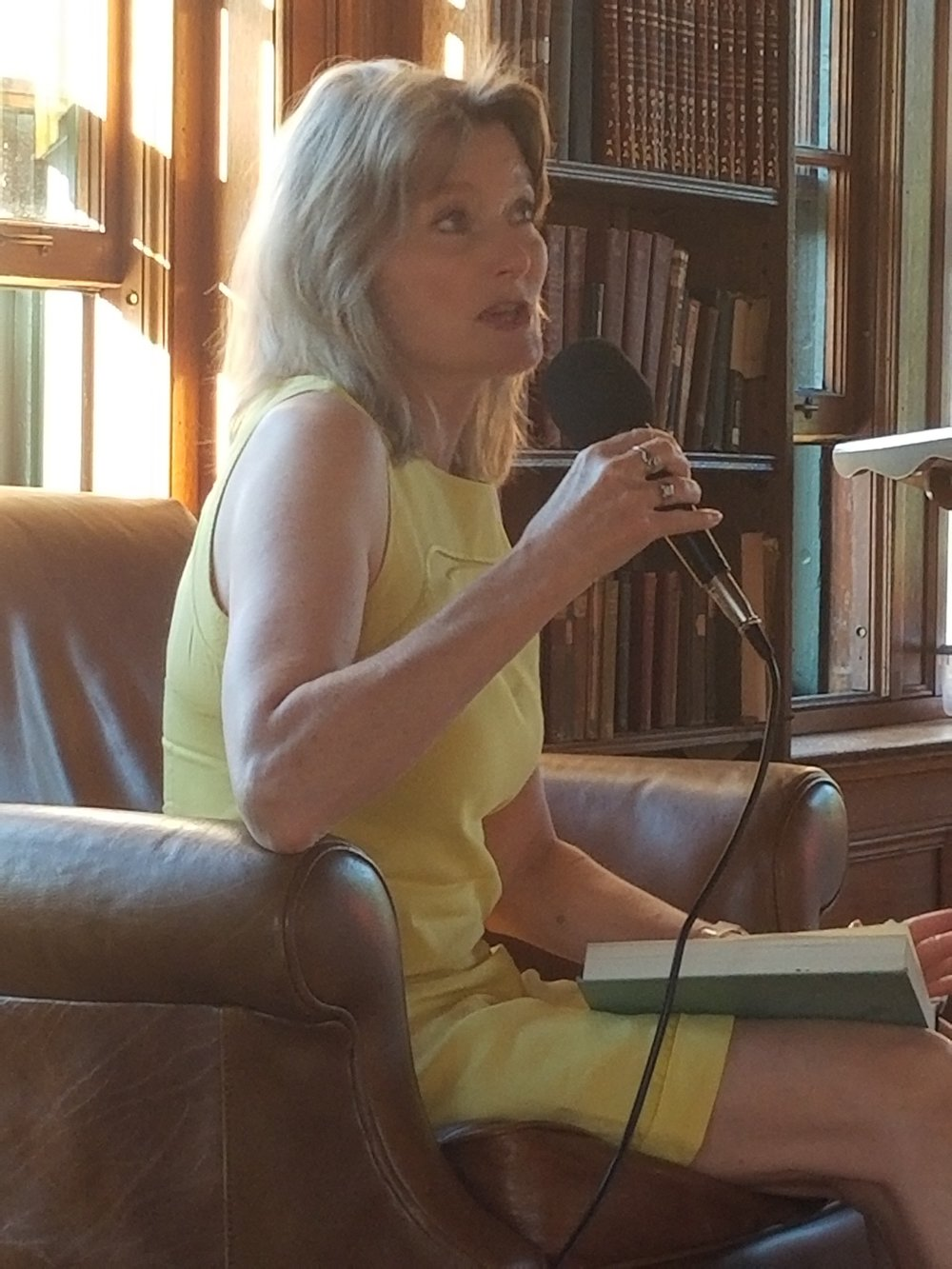 Jennifer Egan, author of  Manhattan Beach , sponsored by  Bank Square Books  at  Wheeler Library  in North Stonington, CT.