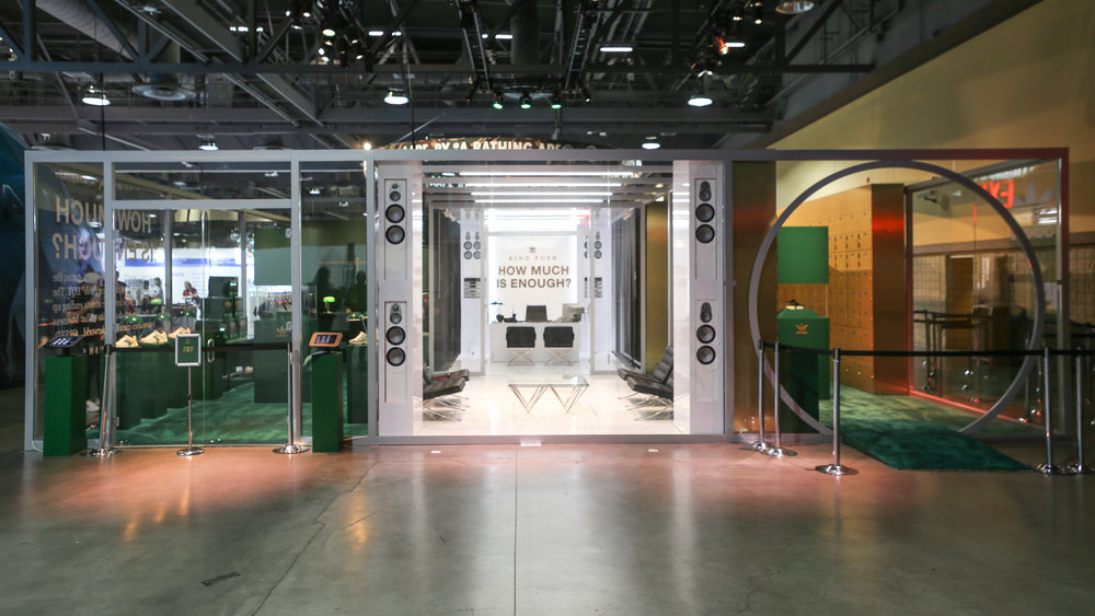 huge discount 28b52 b92c9 adidas Originals x Pusha-T EQT Booth at ComplexCon 2018