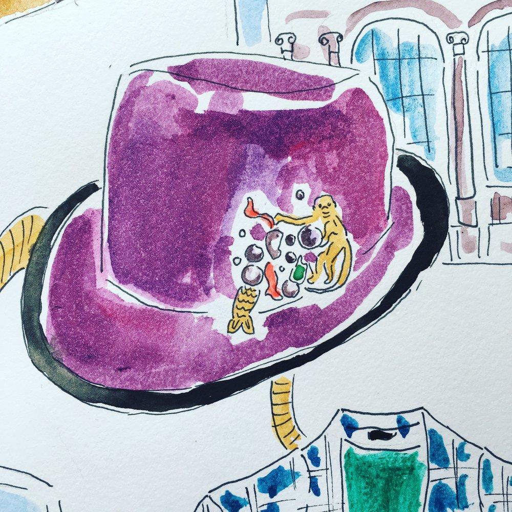 Dandy of New York, Hat