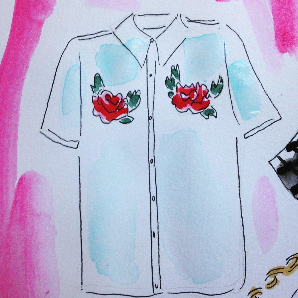 Wild We Rose shirt