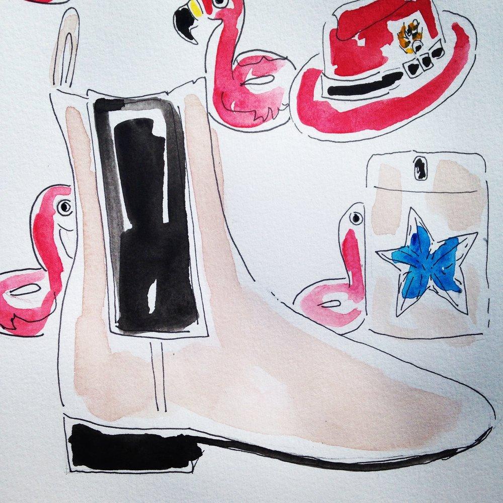 Louboutin Chelsea Boots