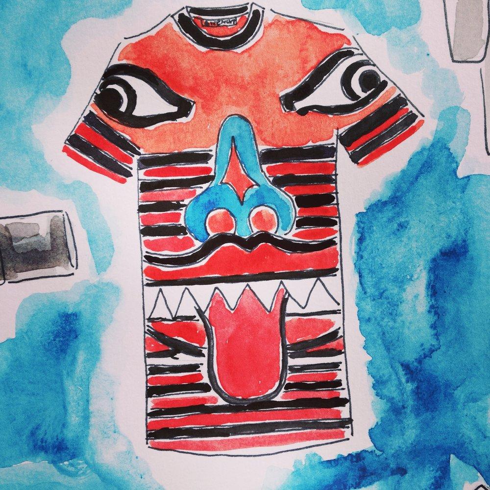 Givenchy Polynesian T-Shirt