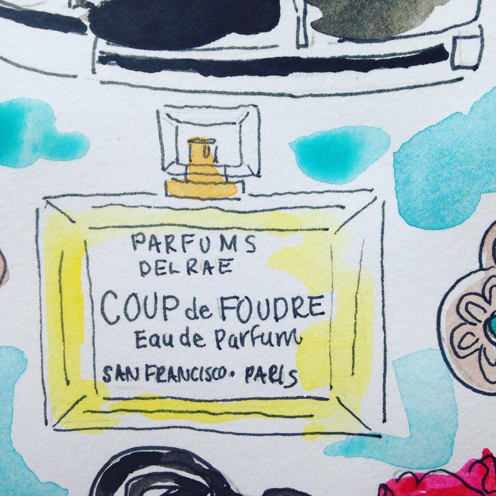 Coup de Foudre fragrance