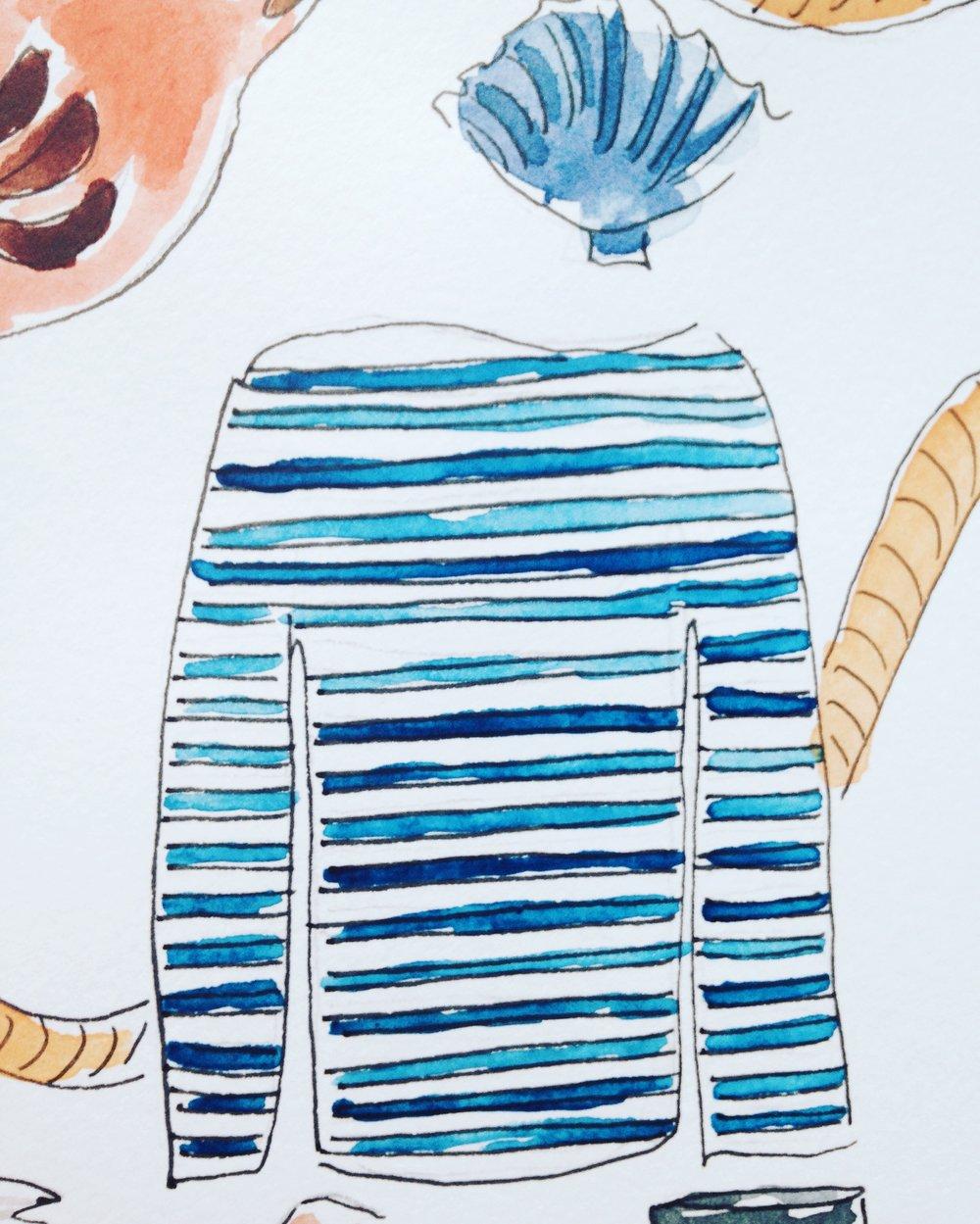 Margaret Howell striped shirt
