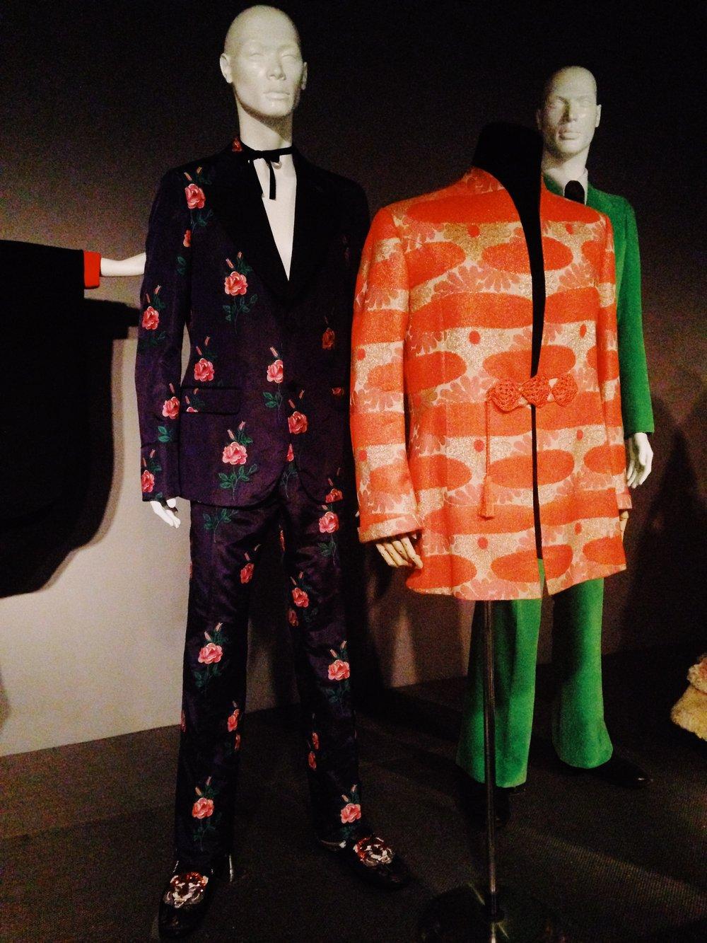 Gucci Floral Menswear Suit