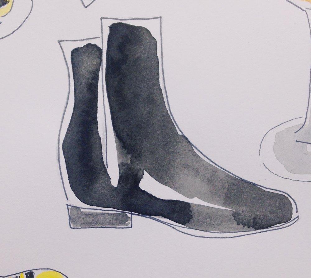 Saint Laurent  Eli Boots