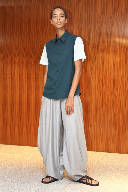 Franco Lacosta SS18 Look 6.Photo courtesy of Daphne Youree.