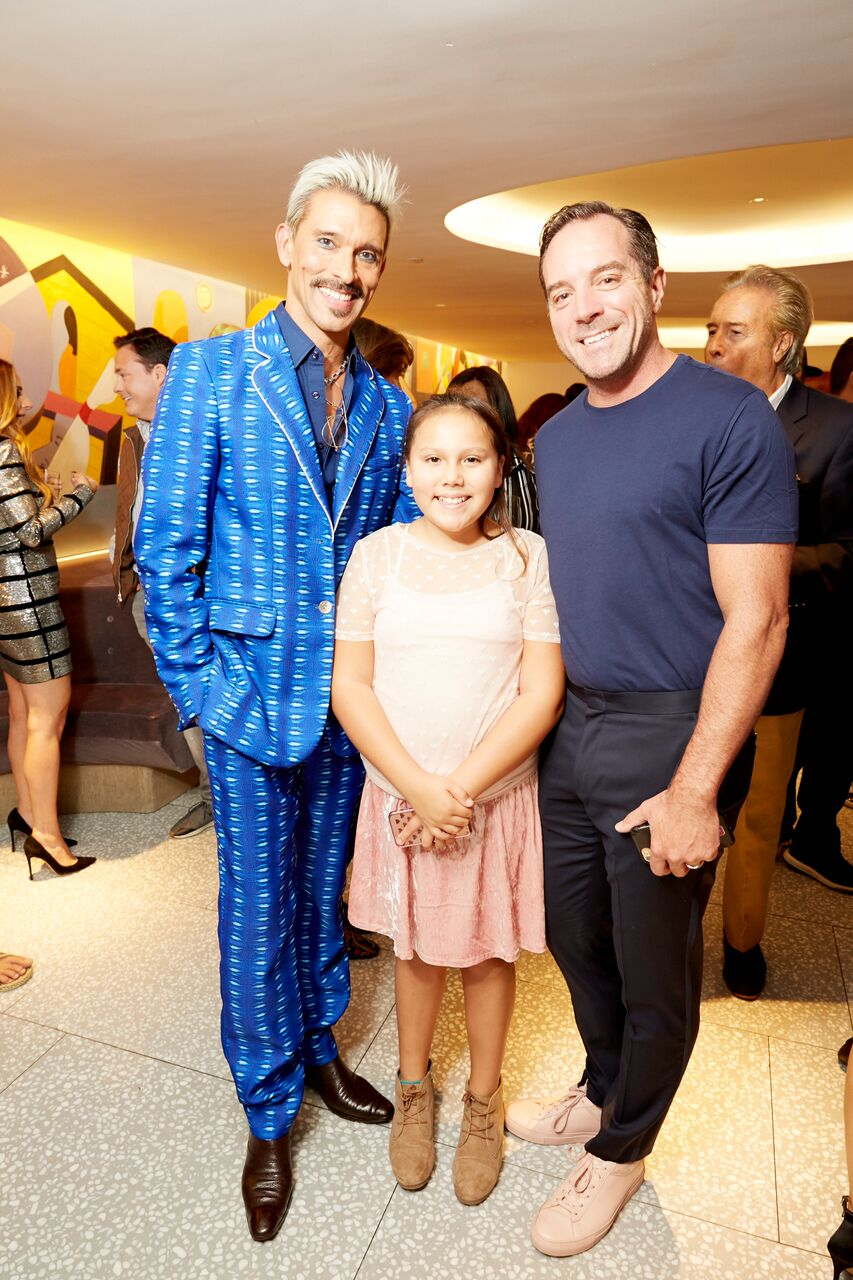 Franco with his husband, Jeffrey and daughter Carmen.Photo courtesy of Daphne Youree.