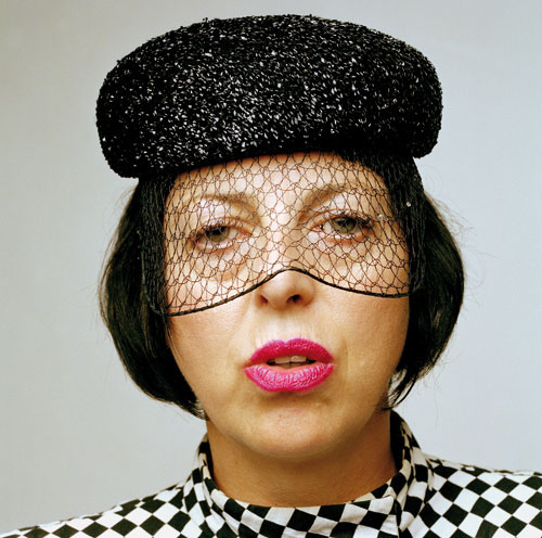 Isabella Blow, photo courtesy of Marina Rink for the Blow by Blow book by Thames and Hudson.