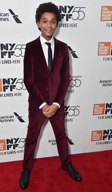 Jaden Michael on the Red Carpet of NYFF.
