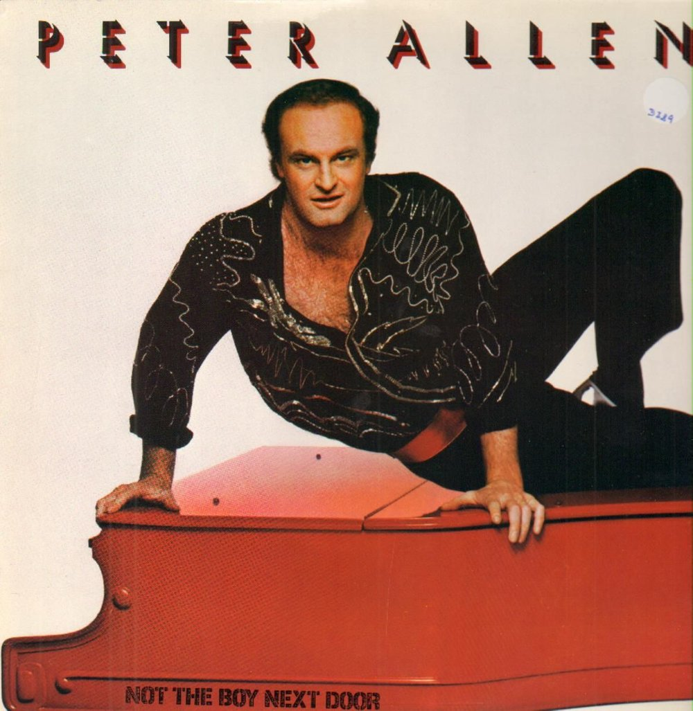 Peter Allen wearing a Fabrice shirt.