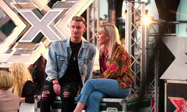 Callum's appearance on the U.K.'s X Factor