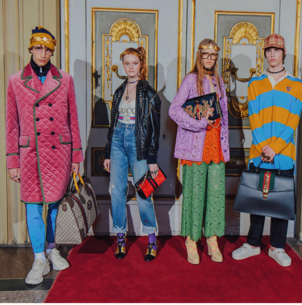 Gucci Resort, photo courtesy of @tommyton