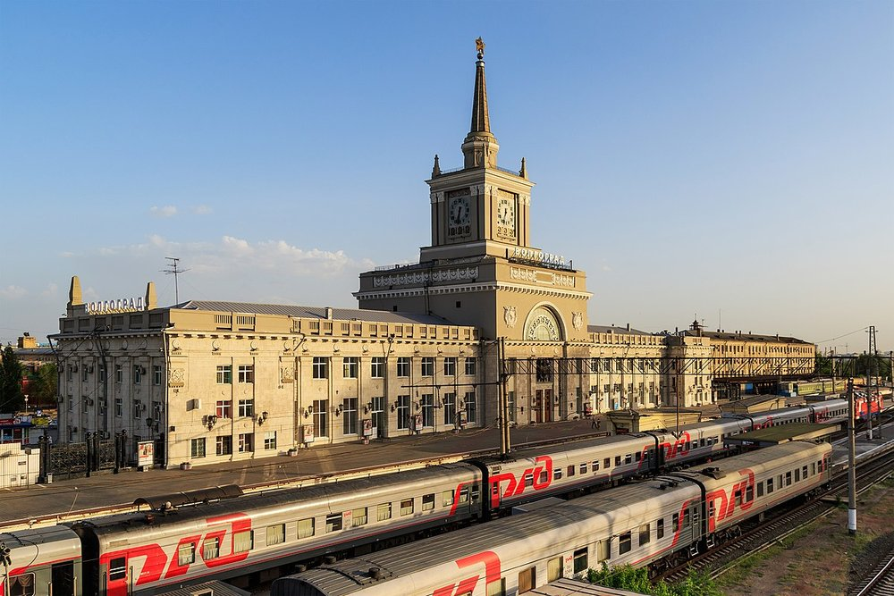 Central Station in Volograd.